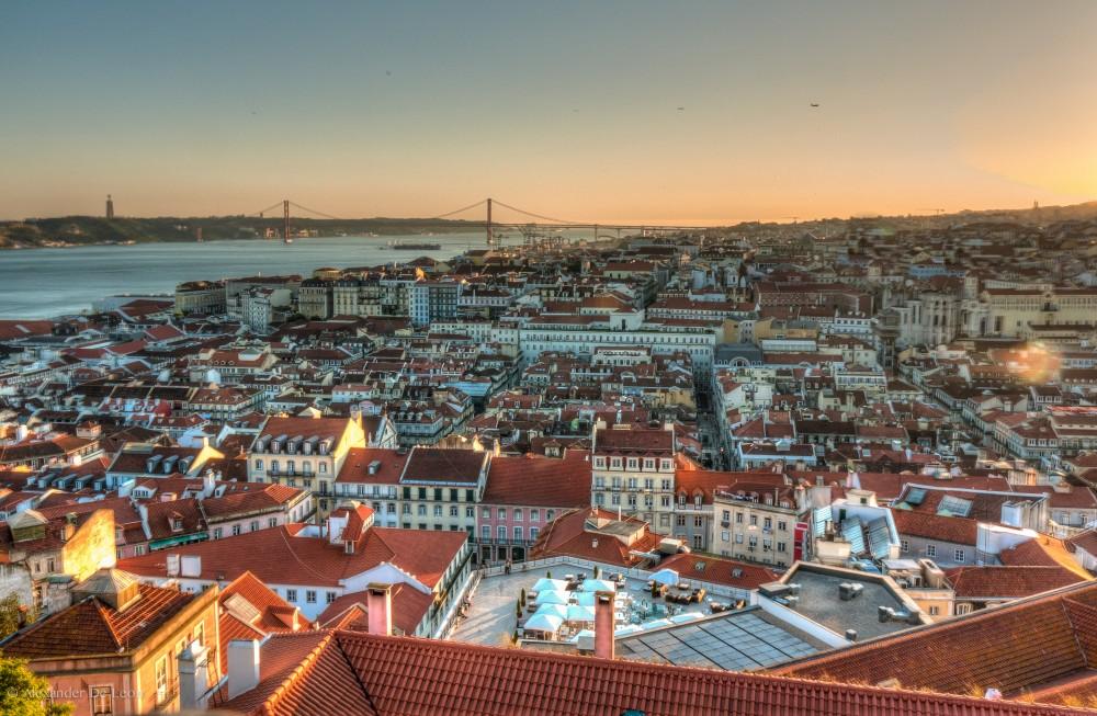 Lisboa-vista-ciudad-panorámica-
