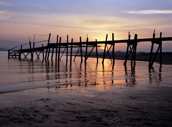 playa puntal atardecer más bonito de españa clickviaja