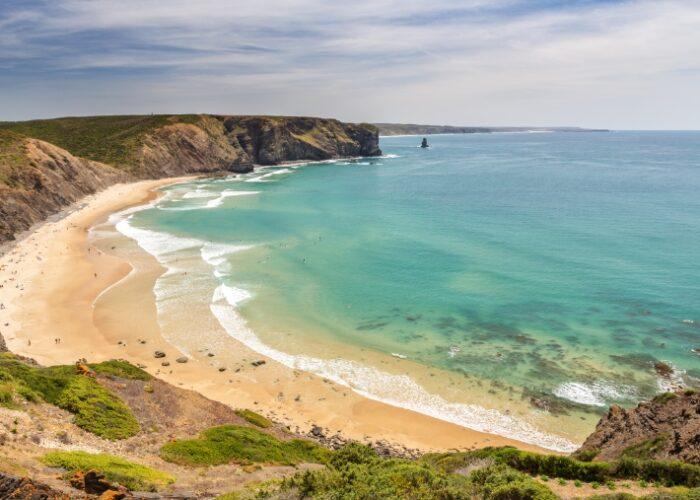 playa arrifana playas de la costa vicentina clickviaja